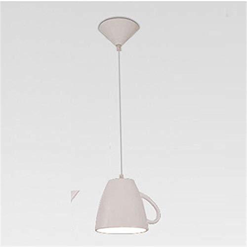 Pendelleuchten Hängeleuchten Deckenleuchte Pendellampe Moderne Harz Teekanne Pendelleuchten Teetasse Pendelleuchte Küchenbar/Kaffee Hängelampe Für Esszimmer Dekor Beleuchtung Fixturess-Weiße Tasse