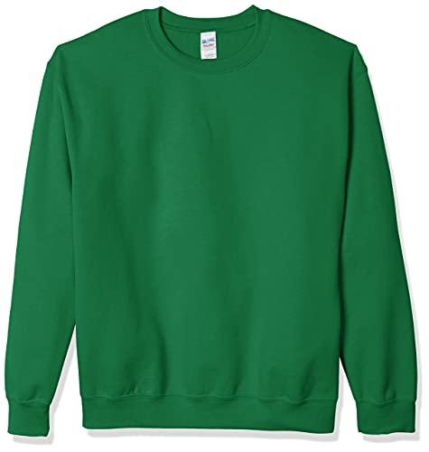 Gildan Men's Fleece Crewneck Sweatshirt, Style G18000, Irish Green, 2X-Large