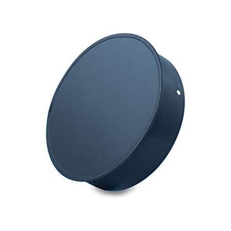 Tapón o tapa, vitrificado para chimeneas y estufas de leña y pellet, cualquier diámetro, autoconectables (150 mm)