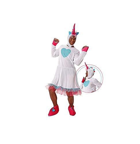 DM Disfraz de Unicornio. Despedidas y Fiestas de Disfraces. Talla única de adulto.