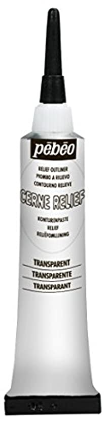 Pebeo 773620 Cerne Relief 20 ml Transparent,