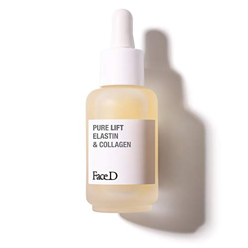 Face D - Pure Lift, Siero ad Attivi Puri con Elastina e Collagene, 30 ml