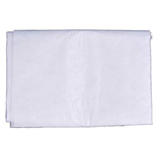 Kesheng Glasfasermatte Fiberglas Gewebe Weiß für Polyesterharz 5 x 1m