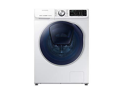 Samsung WD90N645OOW/EC lavadora Carga frontal Independiente Azul, Blanco A - Lavadora-secadora (Carga frontal, Independiente, Azul, Blanco, Izquierda, Giratorio, Tocar, LED)
