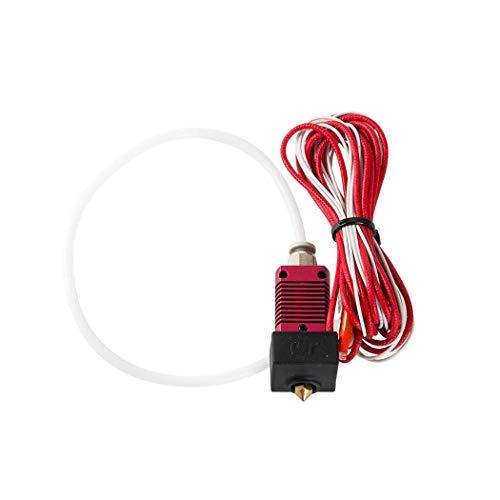 LSJTZ 3D printer accessories, nozzle set, suitable for Ender-3, Ender-3pro, Ender-3S, red