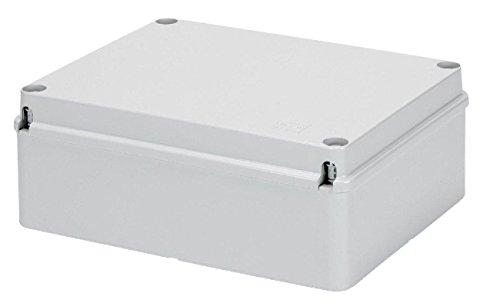 Gewiss Cassetta Stagna Scatola di derivazione con coperchio basso a vite per pareti lisce IP65 (GW44207)