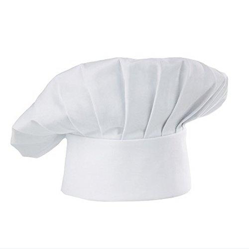 Pixnor CHAT Chef chapeau bonnet blanc