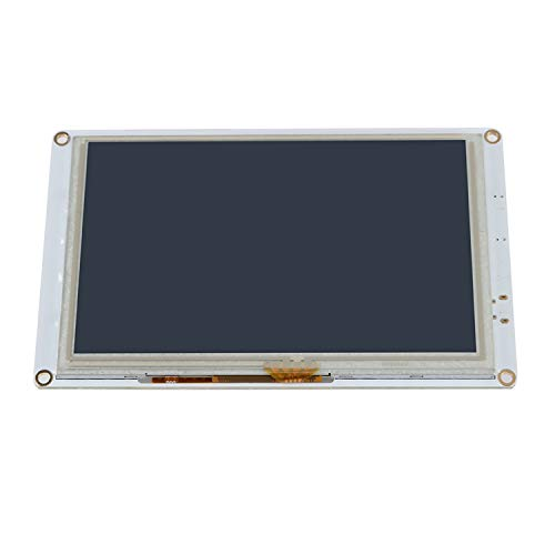 Paneldue 7I Integrated, Tickas 7 Inch, 7 Inch PanelDue 7i Integrated Paneldue Colour LCD Display Touchscreen Controller Compatible with DuetWifi Duet 2 Ethernet 3D Printer Parts