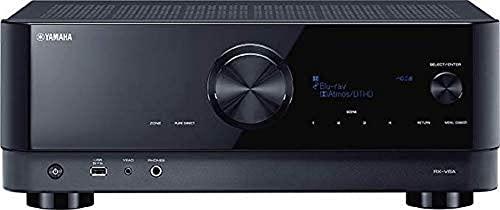 Yamaha AV-Receiver RX-V6A schwarz – Netzwerk-Receiver mit...