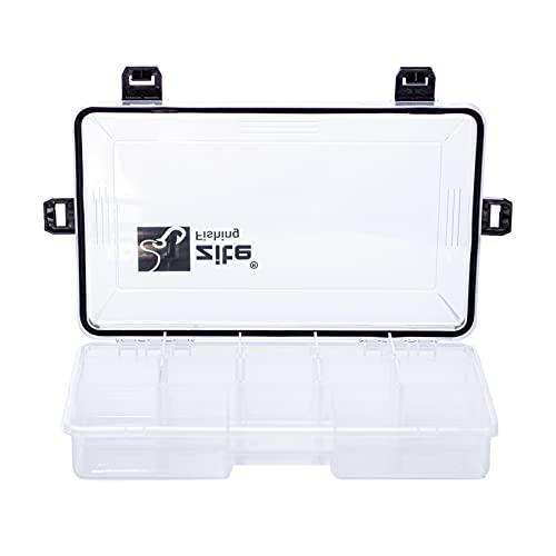 Zite Fishing Angelbox Wasserdicht 27x17x5cm - Köderbox Kleinteile-Box Tacklebox für Angelzubehör Wobbler Gummifische