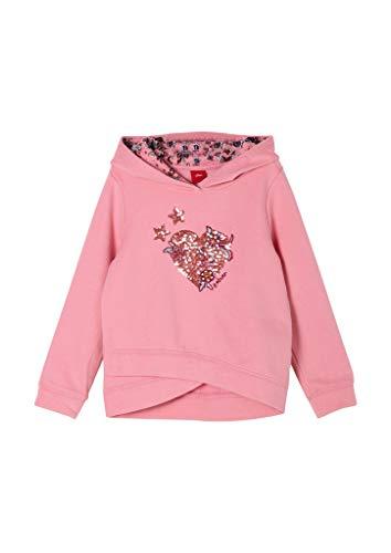 s.Oliver Junior Mädchen 403.10.011.14.140.2053571 Sweatshirt, 4326, 92/98 cm Regular