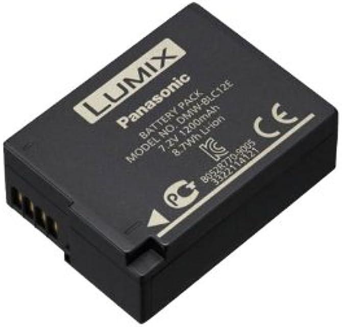 Panasonic Lumix DMW-BLC12 - Batería Oficial para Cámaras Panasonic Lumix (Serie FZ300/1000/1000 II/2000 Serie G7/80/G90)