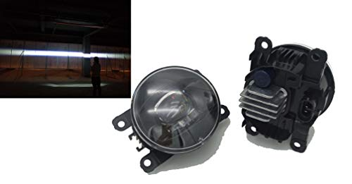 Neue Generation LED Nebelscheinwerfer Paar für RENAULT Clio IV Captur TWINGO Scénic MEGANE Fluence Scenic KANGOO Koleos QM3 Trafic fog lights 2002 03 04 05 06 07 08 09 2010 11 2012 13 14