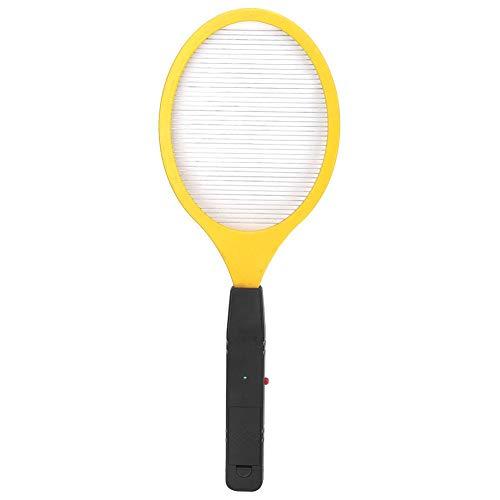 East buy Matador de Mosquitos eléctrico, batería inalámbrica, matamoscas de Mosquitos eléctrico, matamoscas de Insectos, Raqueta, Asesino de Insectos.(Amarillo)