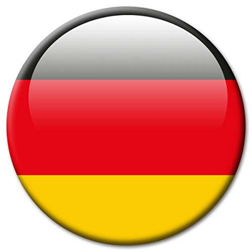 GUMA Kühlschrankmagnet Deutschland Flaggen Magnet Länder Reise Souvenir Flagge BRD für Kühlschrank stark groß 50 mm