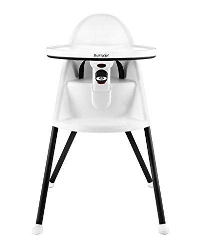 BabyBjörn 067021 - Trona de plástico y acero esmaltado, color blanco