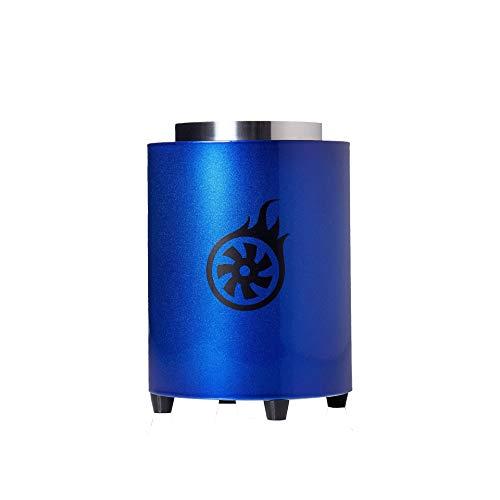 Shisha-Turbine NEXT Kohleanzünder Magic Blue | Elektrischer Kohlenanzünder für Shisha Kohle