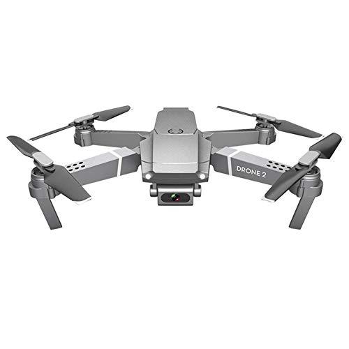 SNIIA Drone con Cámara HD 720P 1080P 4K LED Quadcopter FPV WiFi RC con Video En Vivo Control De Radio 3D 360 ° Flips Mantener Altitud Práctico Helicóptero Controlado A Distancia-4K Y 3 Pilas