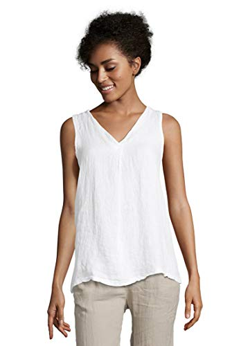 Cartoon Damen 8972/7341 Trägershirt/Cami Shirt, Bright White, M