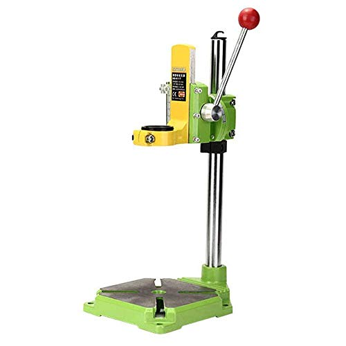 YEEZUGO Floor Drill Press Stand Table for Drill Workbench Repair Tool Clamp for Drilling Collet,drill Press Table ,Table Top Drill Press 35&43mm.0-90 degrees