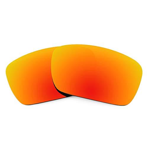 Revant Ersatzgläser für Oakley Fuel Cell, Polarisiert, Elite Feuerrot MirrorShield