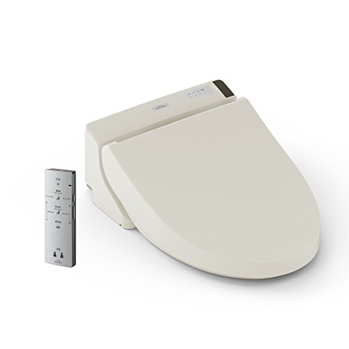 TOTO SW2044#12 C200 WASHLET Electronic Bidet Toilet Seat with PREMIST and SoftClose Lid, Elongated, Sedona Beige