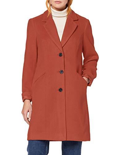 VERO MODA Damen VMCALA Cindy AW19 3/4 Jacket BOOS Mantel, Rosa (Mahogany Mahogany), X-Small (Herstellergröße: XS)