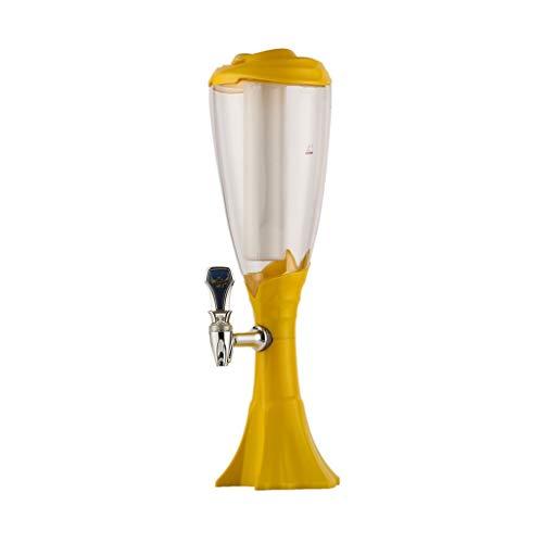 Bucket Yxx@ 1.5L 3L Dispensador de Bebidas de Pilar de Cerveza, Pilar de Cerveza de Mesa, Pilar de Cerveza para el hogar, Pilar de Cerveza para Fiestas, Pilar de Cerveza de Jirafas, Torre de Cerveza