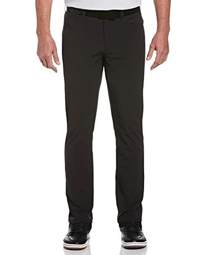 Callaway Everplay Herren-Golfhose mit 5 Taschen, Herren, Hose, Everplay 5-Pocket Golf Pant, Schwarz/Erika, 34W x 34L