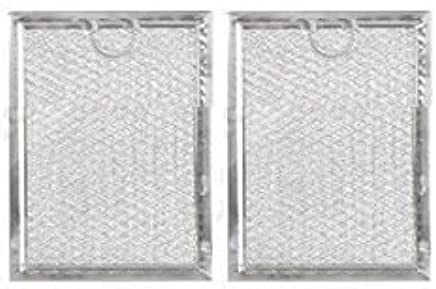 Amazon.com: GE WB06X10359 Grease Filter for Microwave 2 Pack ... on