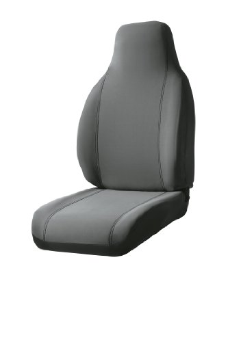 Fia SP87-37 GRAY Custom Fit Front Seat Cover Bucket Seats - Poly-Cotton, (Gray)