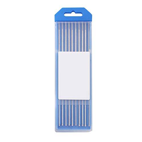 Electrodo de soldadura de tungsteno Xpccj Electrodo de tungsteno Electrodo de soldadura 1mm/1.6mm/2.0mm/2.4mm/3.0mm/3.2mm/4.0mm Electrodos de tungsteno puro con caja