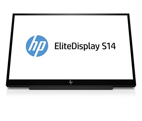 "HP Business S14 14"" LED LCD Monitor - 16:9-5 ms GTG (Renewed)"
