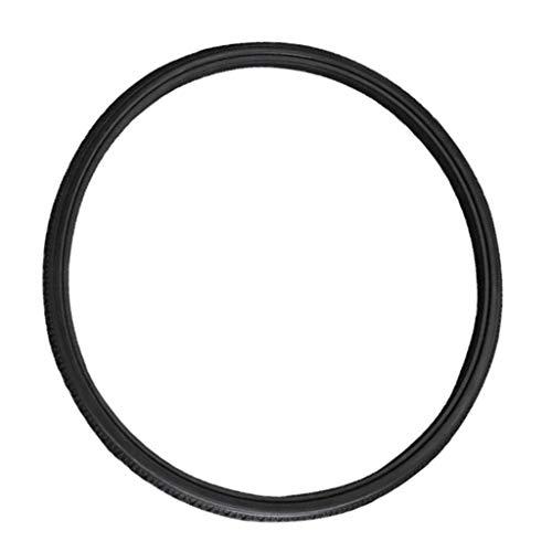 oshhni Neumático de calle sólido de poliuretano resistente Universal para silla de ruedas de 20 pulgadas 22 pulgadas 24x1 3/8 pulgadas, negro - 20X1 3/8