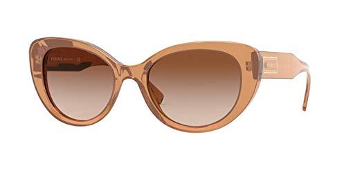 Versace Gafas de Sol 90S VINTAGE LOGO VE 4378 BROWN/BROWN SHADED 54/19/140 mujer