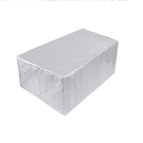 FOGUO Patio Furniture Covers Waterproof, Garden Furniture Covers Rectangular, furniture covers for outdoor seating, Protection from Wind Water UV Protective, Furniture Cover