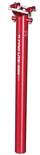 Tija KCNC Ti Pro Lite 27,2 mm rojo 2014 Tija de sillín