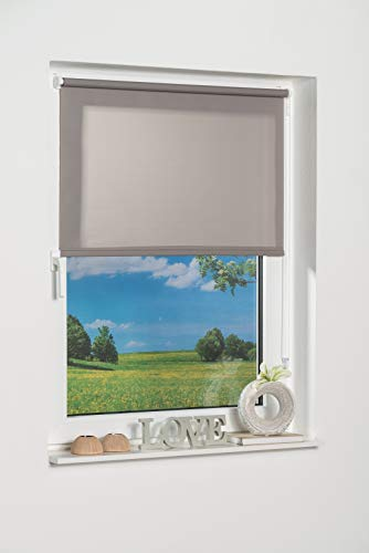 K-home Klemmfix-Minirollo, Grau Tageslicht 50 x 150 (B x L)