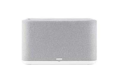 Denon Home 350 Wireless Speaker, Stereo speaker with Bluetooth, WiFi, AirPlay 2, Google Assistant / Siri / Alexa Compatible, Music Streaming, HEOS Built-in for Multiroom - White by Denon