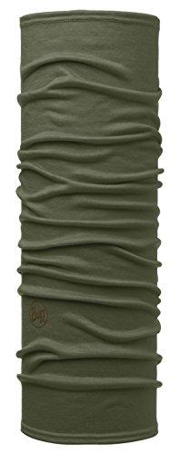 Set - Buff® 100% Merino Schlauchtuch + UP® Ultrapower Schlauchtuch | Unisex | Sturmhaube | Schal | Kopftuch | Halstuch | Schlauchschal, Buff Design:SOLID Forest Night - 113010.824.10.00