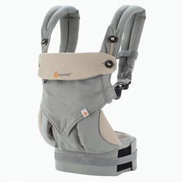 Marsupio neonati ergonomico, 4 in 1,in puro cotone porta Bebe certificato reach 3,5- 15 kg