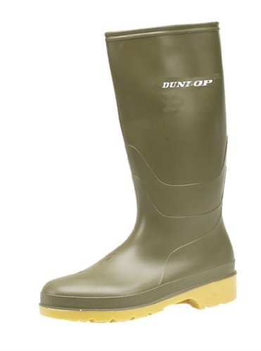 Dunlop Protective Footwear Dunlop Dull, Stivali di Gomma Unisex-Adulto, Verde Green, 42 EU