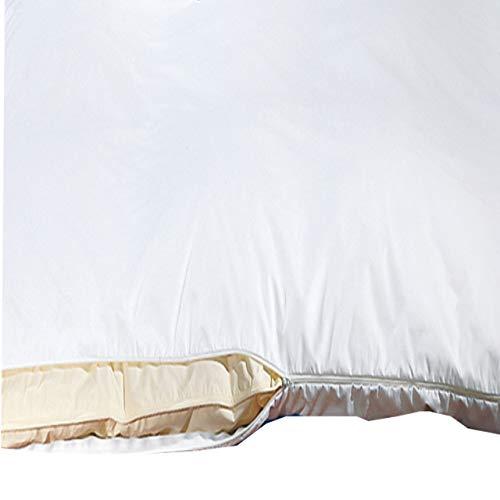 Sanowell Bettwäsche Milbensperre Morpheus Oberbettbezug Größe 135 x 200 cm Allergikerbezug