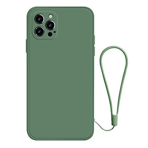 duoying Compatible con iPhone 12 Pro Funda a prueba de golpes colorida de silicona funda protectora iPhone 12, funda de teléfono de goma Bumper Cover 6.1 pulgadas