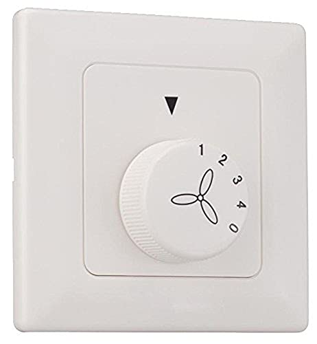 Westinghouse Ceiling Fans Control de Pared Solo para Ventilador, Blanco