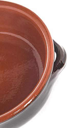 TECNOCERAM TEGAMINI in Terracotta 14 cm Confezione da 4 pz