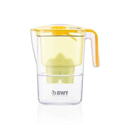 BWT Tischwasserfilter Vida 2,6l gelb; mit einer Kartuschen, angereichert mit wertvollem Magnesium für höchste Vitalität