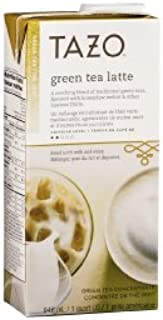 Tazo Green Tea Latte Concentrate (32 oz, 1 quart), Pack of 2