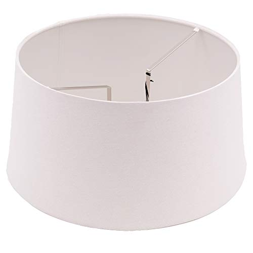 dasmöbelwerk Lampenschirm für Stehleuchten Tisch Lampen Schirm höhenverstellbar PTMD (Ø 40 cm natur)