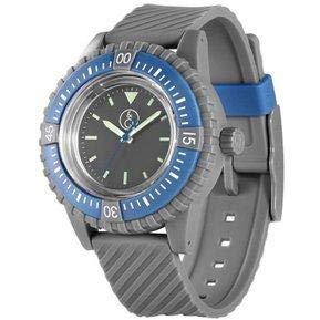 Q&Q SmileSolar 20BAR Series Grey Dial and Strap RP06J006Y Powered by Solar